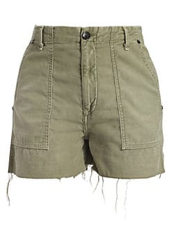 8516d36dfd9 Super High Rise Army Shorts OLIVE. QUICK VIEW. Product image. QUICK VIEW.  Rag & Bone