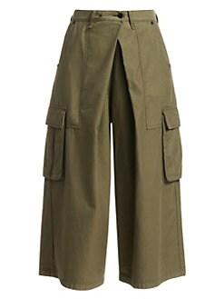 383f6a75110 QUICK VIEW. Rag & Bone. Cargo Wide-Leg Culotte Pants
