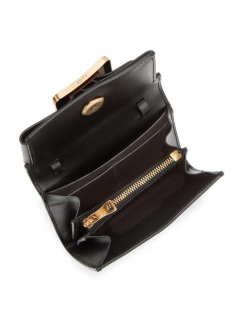 Boyy Buckle Leather Wallet-On-Chain | SaksFifthAvenue