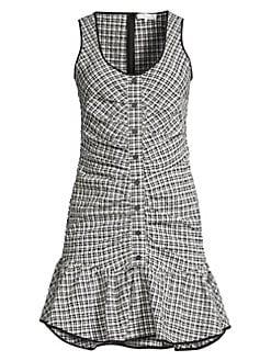 f4ef98cbd5c QUICK VIEW. Parker. Sleeveless Drop Waist Check Dress