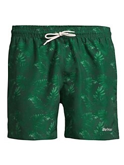 db0132eb20 Barbour Tropical Print Swim Shorts GREEN. QUICK VIEW. Product image