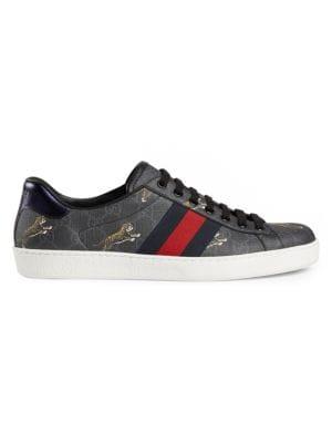 Gucci Ace GG Supreme Tigers Sneaker