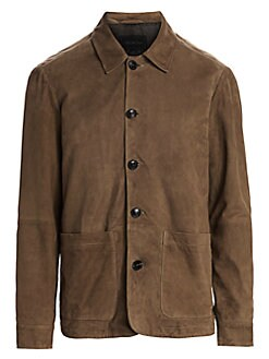 b0f8f57d4 QUICK VIEW. Saks Fifth Avenue. COLLECTION Suede Jacket