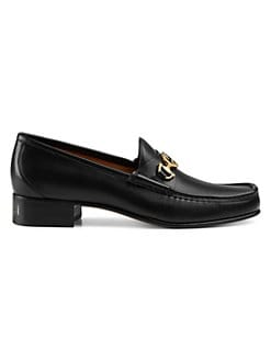 15f8855bc30 QUICK VIEW. Gucci. Roos Tack Leather Loafers