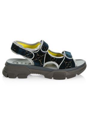 Gucci - Pursuit 72 Rubber Slide Sandal - saks com