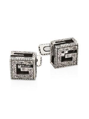 Gucci Accessories G Cube Cufflinks