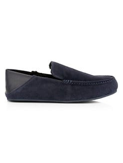 0ff4ff0c770b Product image. QUICK VIEW. Vince. Gino Shearling Lined Suede   Leather Loafer  Slippers