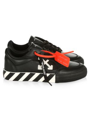 Off White Arrow Low Top Leather Sneakers