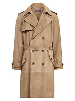 4f3ad8d72d5 Trench Coats & Rain Coats For Men | Saks.com