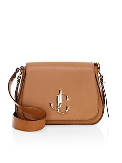 6c992122de88 QUICK VIEW. Jimmy Choo. Varenne Leather Saddle Bag