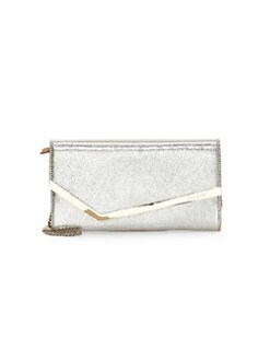 e376484e3c Erica Metallic Leather Clutch GOLD. QUICK VIEW. Product image