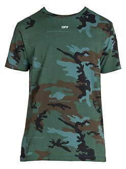 531b635d Off-White. Incompiuto Camo T-shirt