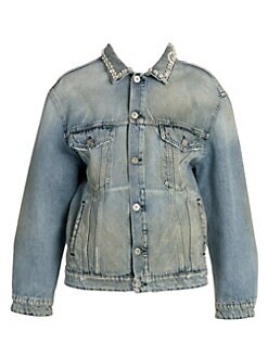 e0ef87c5ac02 Women's Apparel - Coats & Jackets - Denim Jackets - saks.com