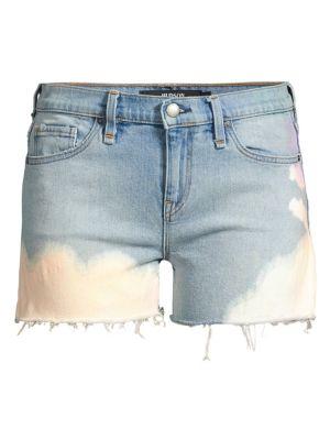 Hudson Jeans Gemma Mid Rise Cut Off Shorts
