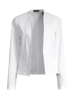 a682b1421a Product image. QUICK VIEW. Theory. Clean Shawl Collar Blazer
