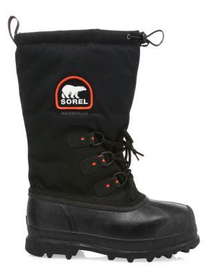 6324d4116cd Sorel - Glacier Drawstring Lace-Up Boots - saks.com