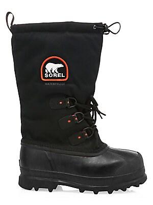 e7eb6396174 Sorel - Glacier Drawstring Lace-Up Boots