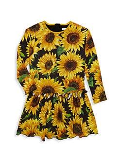 ad37d60b6bd8 Product image. QUICK VIEW. Dolce & Gabbana. Little Girl's & Girl's  Sunflower Dress. $395.00 - $475.00