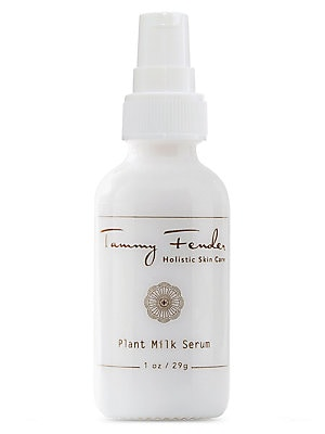 Image of WHAT IT IS Nutritive, complete and balanced, Plant Milk is a unique, milky emulsion of botanical extracts, created to soothe and to nurture delicate and sensitive skin. 1 oz. Made in USA. WHAT IT DOES Tammy Fender crafted this blend to nurture delicate an