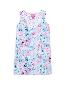 d22bf99467dc3a Product image. QUICK VIEW. Lilly Pulitzer Kids. Little Girl's & Girl's Mini  Harper Print Shift Dress
