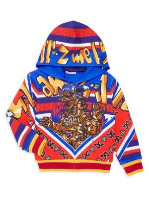 Dolce Amp Gabbana Little Boy S Boy S Printed Hoodie