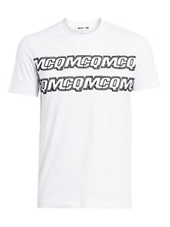 225ddd63 Product image. QUICK VIEW. McQ Alexander McQueen. Logo Cotton Tee. $210.00