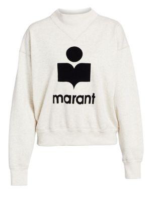 Isabel Marant Etoile Moby Logo Sweatshirt