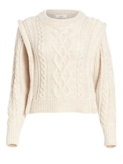 30dccbc86 Product image. QUICK VIEW. Isabel Marant Etoile. Tayle Cableknit Wool  Sweater