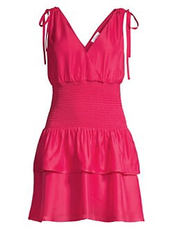 616156d30a6 QUICK VIEW. Parker. Violina Smocked Waist Tiered Ruffled Dress