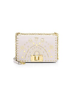 4a658d3dde37f Mini Mimi Embellished Leather Crossbody Bag WHITE. QUICK VIEW. Product  image. QUICK VIEW. Furla