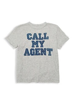 0e3081850 QUICK VIEW. Chaser. Little Boy's & Boy's Call My Agent Tee