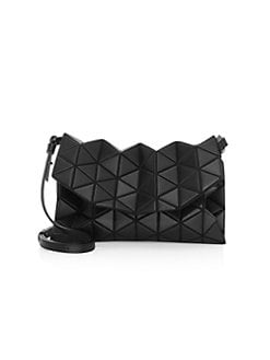 0985e0c36af4c5 Tonneau Embossed Geometric Crossbody Bag MATTE BLACK. QUICK VIEW. Product  image