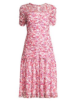 b7ce1306a362 QUICK VIEW. Shoshanna. Vonne Floral Drop-Waist Dress