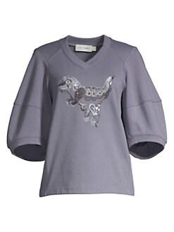 65a53bcdc Women's Apparel - Sweatshirts - saks.com