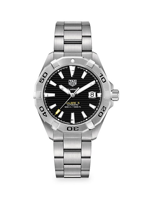 Aquaracer 41MM Stainless Steel Automatic Bracelet Watch