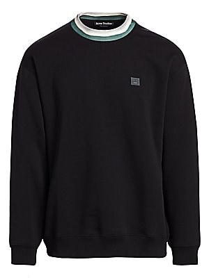 Folsom Face Sweatshirt by Acne Studios