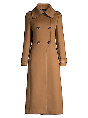Double Breasted Wool Coat by Mackage