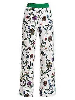 3b08c4a051b Pants For Women: Trousers, Joggers & More | Saks.com