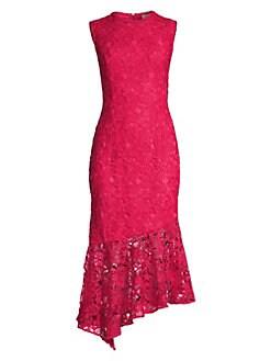 7ca721b8bdec Shoshanna. Gabriola Lace Midi Dress