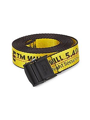 Mini Industrial Logo Belt by Off White