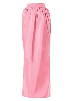 a3194a22c8f29 QUICK VIEW. Carolina Herrera. Gathered Silk Maxi Skirt