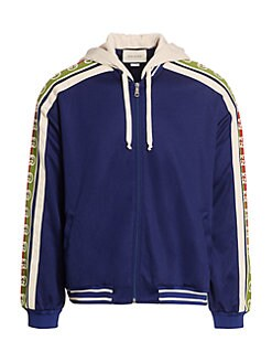 ef0fbe769f4 QUICK VIEW. Gucci. Technical Jersey Bomber Jacket