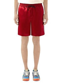 be035c73196 Gucci. GG Star Acetate Shorts
