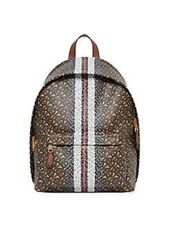 2c43afdce23802 Burberry. Monogram Logo Stripe Backpack