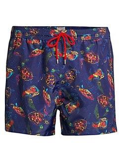 242990fcff86a Paul Smith. Turtle Print Swim Shorts