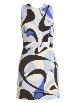 Emilio Pucci Punto Milano Printed Mini Dress