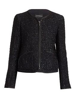 5a391ea9 Emporio Armani | Women's Apparel - Coats & Jackets - saks.com