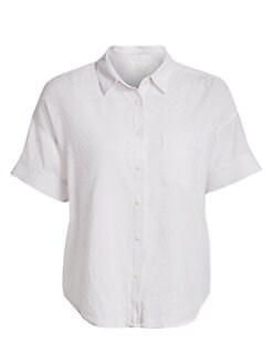 54516d85 Rag & Bone. Lenny Tie Shirt