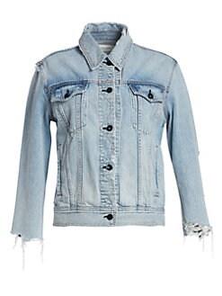 9e16b559132 Women s Apparel - Coats   Jackets - Denim Jackets - saks.com
