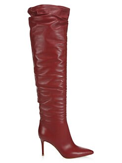 d95127b2cba8 Product image. QUICK VIEW. Gianvito Rossi. Over-The-Knee Leather Boots